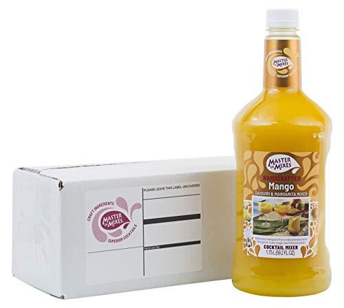 Master of Mixes Mango Daiquiri / Margarita Drink Mix, Ready to Use, 1.75 Liter Bottle (59.2 Fl Oz), Individually Boxed