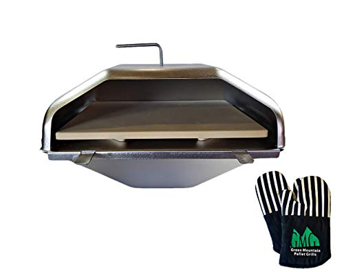 Green Mountain Grill Wood Fired Pizza Oven + Free GMG Oven Mitts