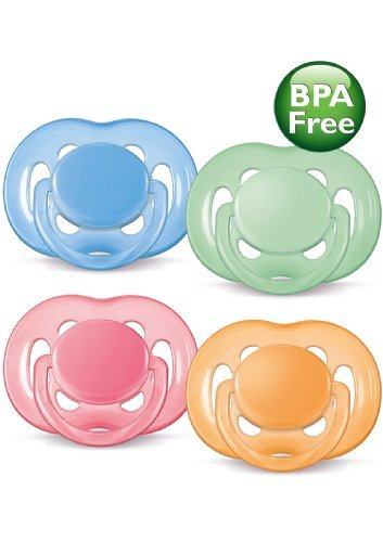 Philips AVENT BPA Free Contemporary Freeflow Pacifier, 0-6 Months, 2-Pack, Colors and Designs May Vary Kids, Infant, Child, Baby Products bébé, nourrisson, enfant, jouet