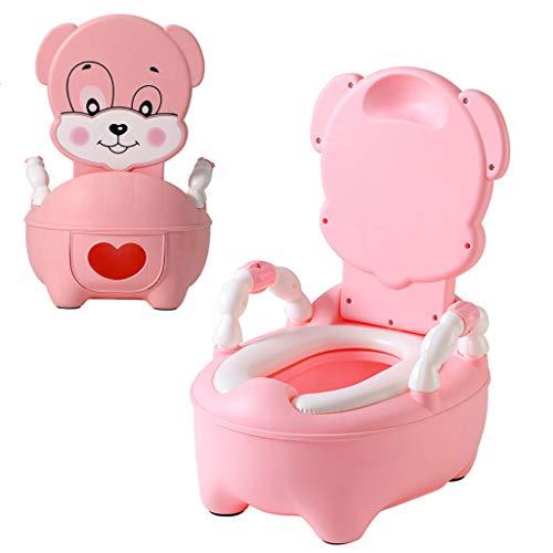 Vinteky Pot bébé Pot Enfants Trainer Pot WC Siège de Toilettes Pot d'Apprentissage avec Dossier