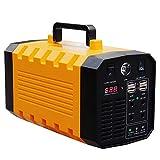 Generador de energía portátil de 500W 288Wh, Fuente de alimentación de batería de Litio para estación de energía, para Camping, Viajes, Emergencia CPAP