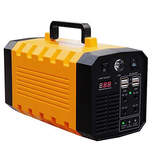 CCFCF Central eléctrica de generador portátil 500W, batería de Emergencia de Litio...