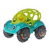 SimpleLife Babyspielzeugautos Soft Infant Rattle & Roll Toy, Auto, das rasselt und Geräusche für Kinder, Kleinkinder antreibt