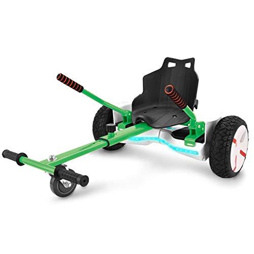 YAHAO Hoverboard Asiento Kart Silla para Hoverboard Ajustable para Patinete Eléctrico Asiento...