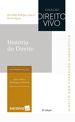 História do direito - 8ª edição de 2017