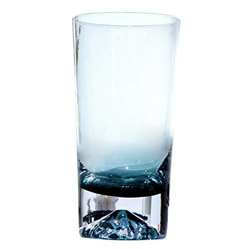 Cutogain Encre Coupe Iceberg Bleu Coupe en Verre Au Citron Verre Créatif Neige Japonaise