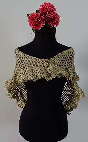 Mantoncillos de crochet para flamenca 🧡