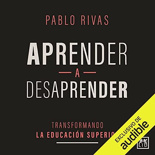 Diseño de la portada del título Aprender a Desaprender