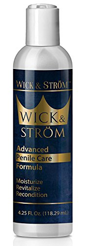 Wick & Ström Advanced Penile Care Cream: Moisturizing Cream for Men's...