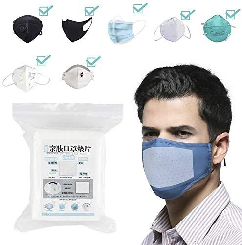 100 Pack CPAP Filter Einwegfilter aus Vliesstoff Atemschutzfilter Universal Ersatz Mundschutzfilter Mask Filter