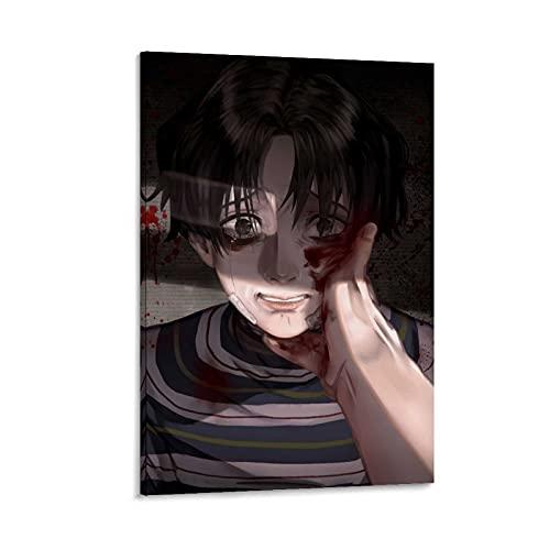 EWRT Póster decorativo de anime Killing Stalking Bum Yoon de 40 x 60 cm