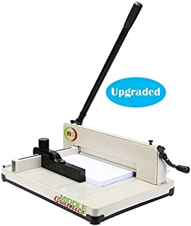 """17"""" Manual High-End Guillotine Stack Paper Cutter Heavy Duty Trimmer"""