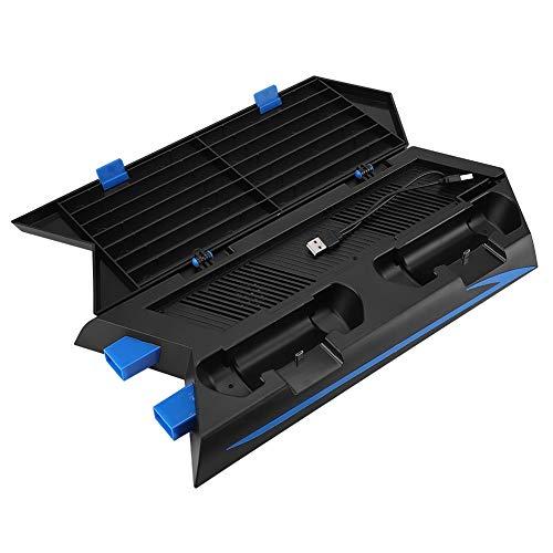 Eboxer Multifunctioneel laadstation Stand Dock voor PS4 console controller ventilator discs rek