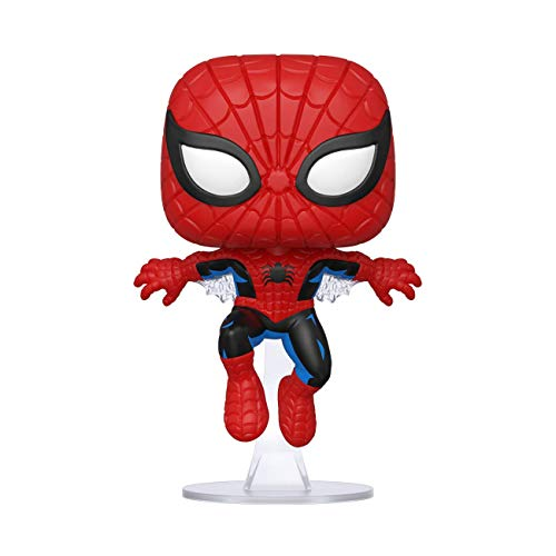 Funko- Pop Marvel: 80th-First Appearance Spider-Man Collectible Toy, 46952, Multicolour