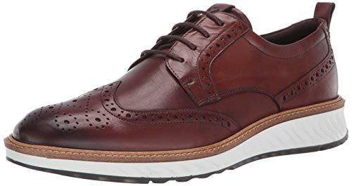ECCO ST.1HYBRID, Zapatos de Cordones Brogue para Hombre, Marrón (Cognac 1053), 39 EU