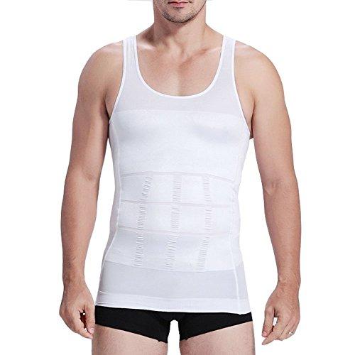 Camiseta de tirantes elástica, para esculpir el cuerpo,