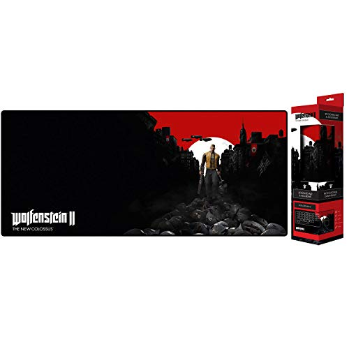 Gaya Wolfenstein II The New Colossus Trail of The Dead - Alfombrilla de ratón (800 x 350 x 4 mm)