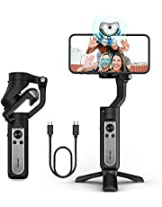 $109 » Gimbal Stabilizer hohem iSteady V2 3-Axis Gimbal Stabilizer for Smartphone Handheld with Grip AI Visual Tracking Type-C Reverse Charging Vlog Live YouTube for iPhone Android GoPro