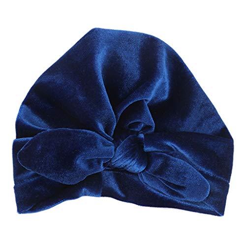 Lunji. Bonnet Bebe Fille Confortable, Turban Noeud Cadeau Pour Naissance Baptême