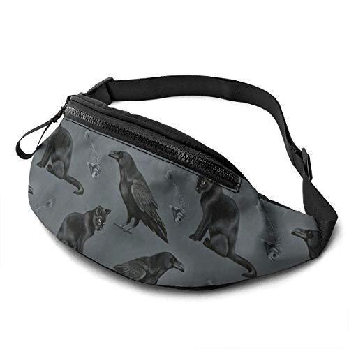 NHCY Nicht Candy Corn Halloween verstellbare Fanny Running Waist Pack Bag