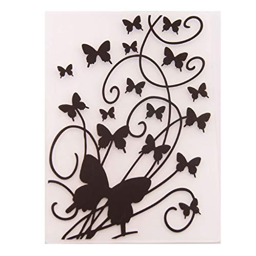 Faguo Plastic Embossing Folder Vorlage DIY Scrapbook Fotoalbum Karte Herstellung Dekoration Handwerk Schmetterling