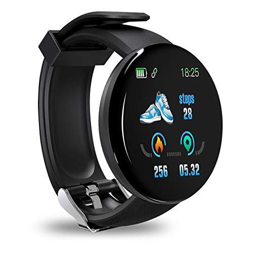 Smartwatch,Reloj Inteligente con Pulsómetro,Cronómetros,Calorías,Monitor de Sueño,Reloj de Fitness con Podómetro Smartwatch Mujer Hombre para Android iphone