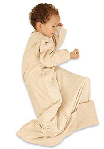 MTTLS saco de dormir del bebé NWYJRSaco el cuatro estaciones doble forro extraíble Swaddle Wrap manta de bebé, S