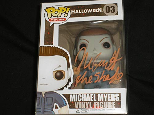 NICK CASTLE Signed Michael Myers Funko Pop Figure Halloween Autograph