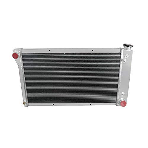 CoolingCare 52MM 3 Row Core Aluminum Radiator for Chevrolet/GMC C/K Series 10 20 30 Trucks Van 1967-72