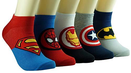 DASOM Superhelden und Schurken Niedliche Helden Socken