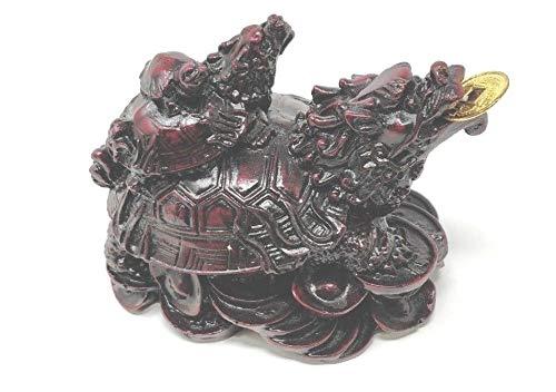 Sterling Effectz Feng Shui Tortue de dragon chinois pour bon