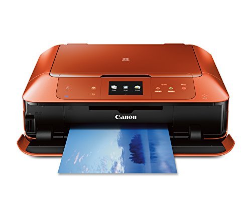 CANON MG7520 Wireless Color Cloud Printer with Scanner and Copier, Burnt Orange (Discontinued By Manufacturer)