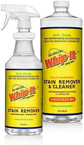 数量限定アウトレット最安価格 人気激安 Whip-It All Natural Enzyme Cleaner - Fighting Stain Kit Professi