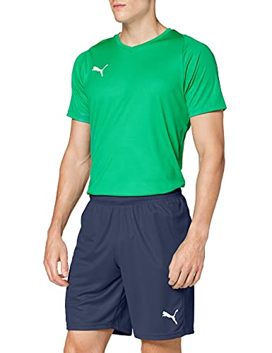 Puma Liga Core, Pantaloncini Uomo, Blu (Peacoat White), XXL