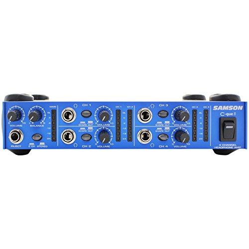 Samson C-Q8 Kopfhörerverstärker 4 Kanal