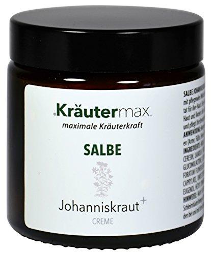 Kräutermax Johanniskraut Salbe hochdosiert 1 x 100 ml Natur Kosmetik