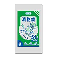 HEIKO ポリ袋 漬物袋(無地) 3斗用 2枚/62-1000-31
