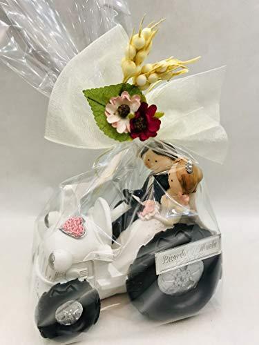 RegalosDeBodaOnline Figura Boda Novios Tractor GRABADA muñecos Personalizados Pastel Tarta