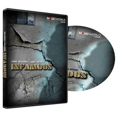 Infamous (DVD & Gimmicks) by Daniel Meadows & James Anthony - Trick