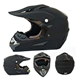 CANALO Casco Integrale di Sicurezza Casco Classico MTB DH Casco da Corsa Motocross Casco da Bici da Discesa Capacetes,H,M