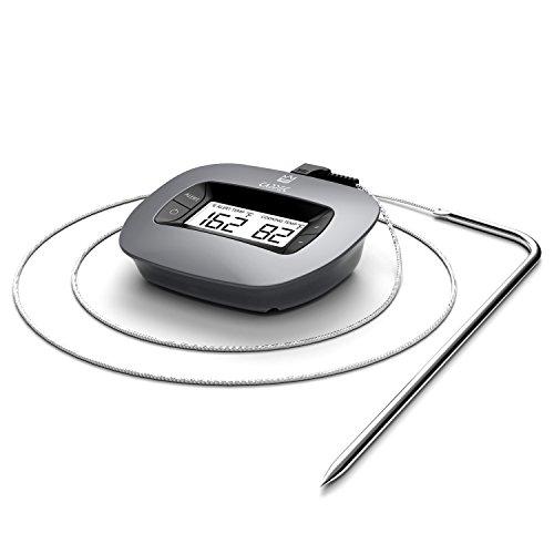 Cappec Digitales Bratenthermometer für Küche Backofen Steak Türkei Braten Fleisch Grill