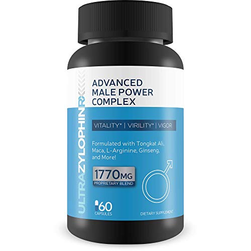 Ultra Zylophin RX X - Extra Strength Advanced Male Power Complex - Vitality - Virility- Vigor -Testo- Weight Loss- Nettle Performance Power Blend - Alpha Performance in The Gym and at Home 60 Capsules