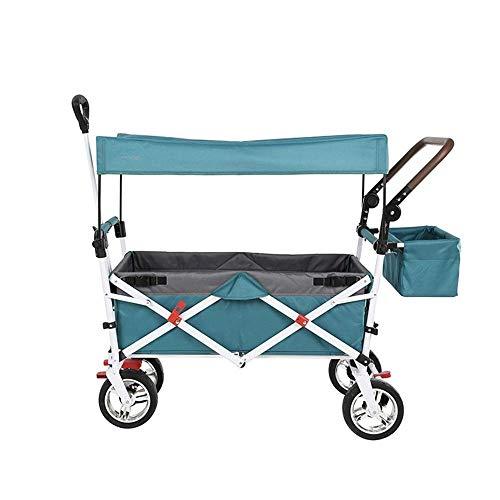 Shopping cart Tire del Carro, Coche del Campo de Viaje versión Mejorada...
