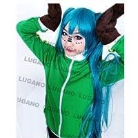 LUGANO   VOCALOID ボーカロイド マトリョシカ 初音ミク 風 衣装+手袋セット   クリスマス ハロウィン イベント仮装 コスチューム  コスプレ衣装 (LLL)