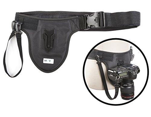 Movo Foto MB600 Universal Kamera Gürtelhaltersyste mfür DSLR & Spiegellose Kameras