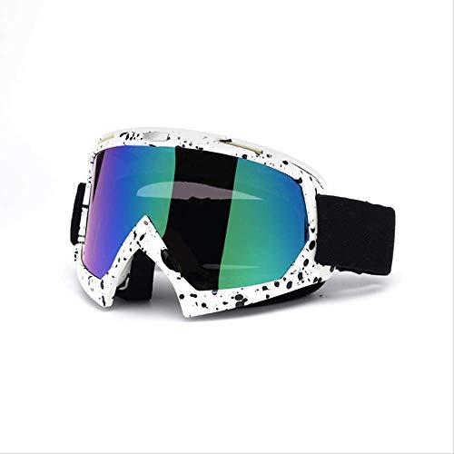 2ROLLROLL 5 Types Ski Bril, Professionele Adult Motocross, 100% UV400 bescherming Skiën Goggles Voor Snowboard, Verstelbare Wrap, Ski Goggles Over Bril, Anti-glare/Fog Ski Gogggles voor Heren & Vrouwen