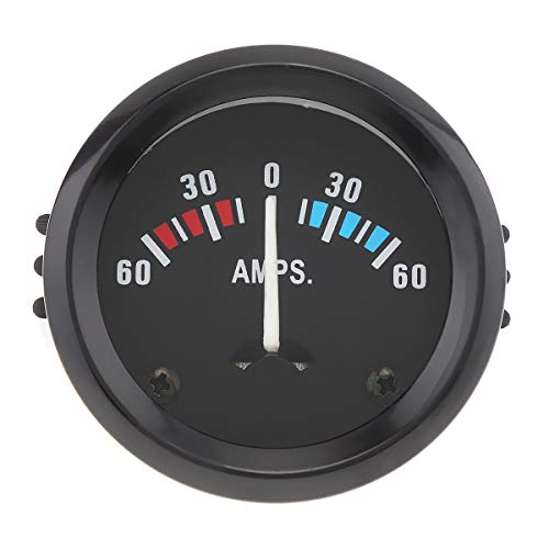 "ePathChina 2"" 52MM 12V 60-0-60 AMP Universal Ammeter Gauge Meter for Car/Boat/Truck/ATV"