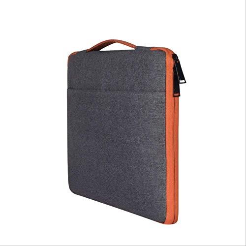 BJBNDB Laptop Tasche Wasserdicht Hülle Tasche Für MacBook Air Retina Pro 11 12 13 13.3 14 15 15.6 Zoll Handtasche Für Xiaomi Air Notebook Für Xiaomi Air 13 Dunkelgrau