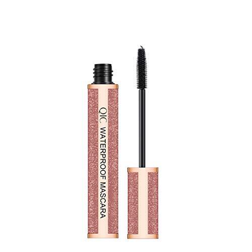 Make-up Mascara Yusell Schwarz 4D wasserdichte Make-up Mascara Long Roll Mascara...