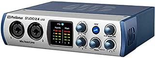 Presonus Audio Interface 2|4 2x2, 192 kHz, USB-C Audio Interface